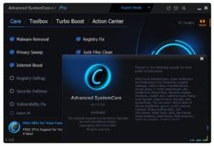 Advanced SystemCare 10 Key
