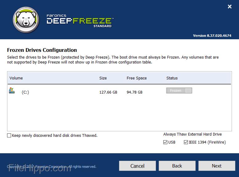 Deep Freeze 8.31 Crack