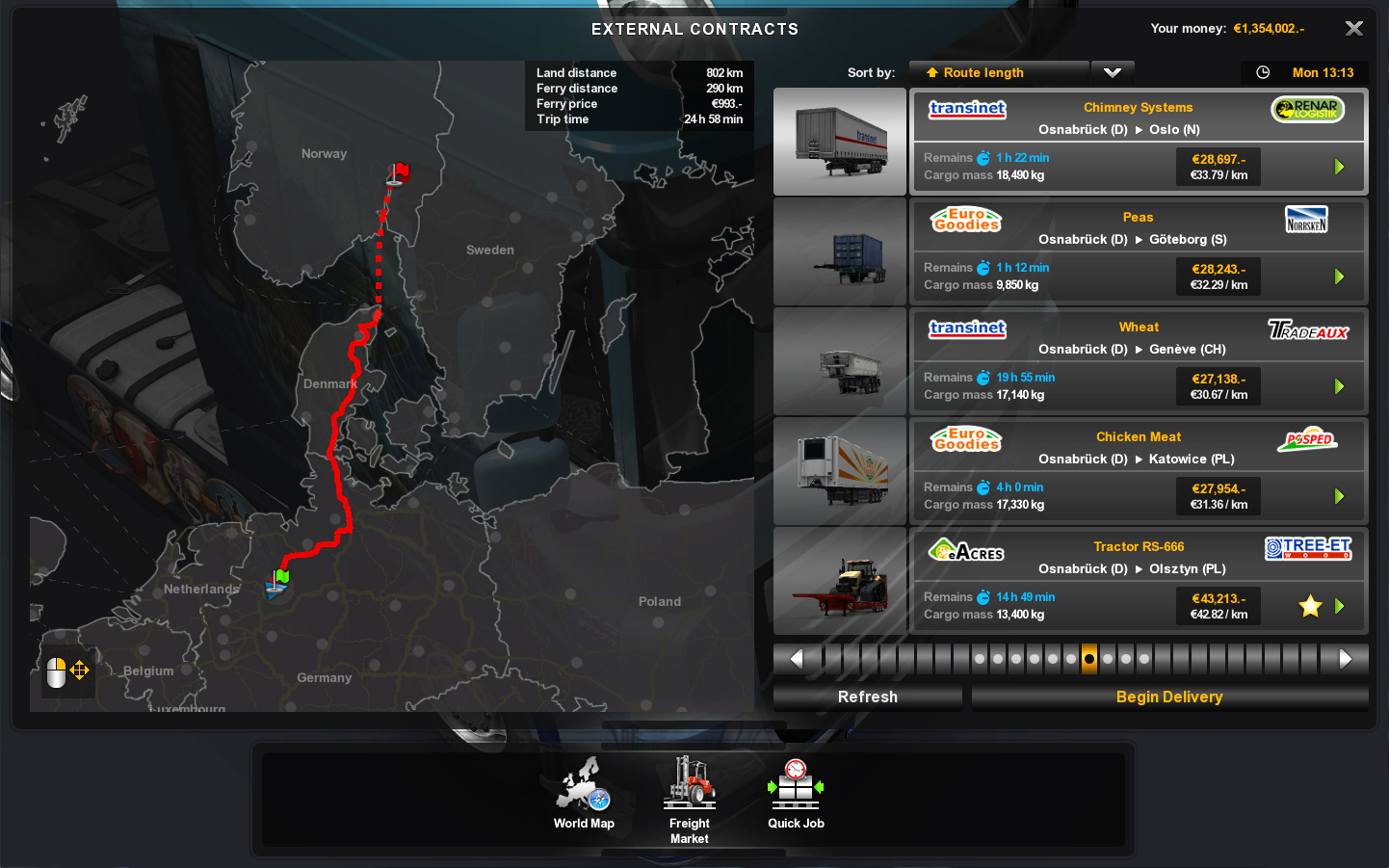 Euro Truck Simulator 2 Cracked