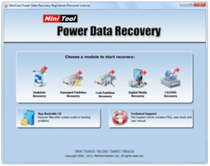 MiniTool Power Data Recovery 7.0 Crack