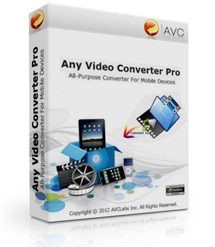 Any Video Converter Professional 6.2.4 Crack