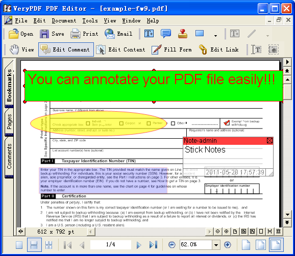 PDF Annotator 7.1.0.712 Crack Mac With Unlock Wizard [Student]
