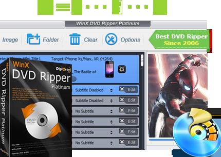 WinX DVD Ripper Platinum Crack Incl License Key
